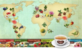 Celestial Seasonings tea_map