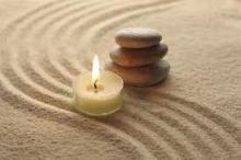 meditation candle image
