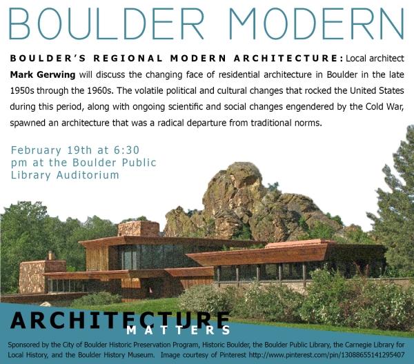 boulder modern